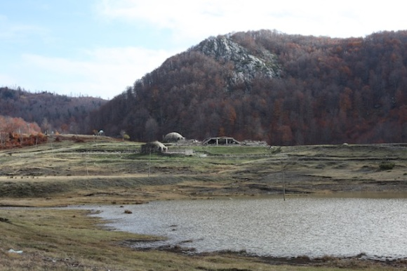 Communist-era bunkers in the Martanesh region, close to the partisan leader Baba Faja's Bektashi shrine
