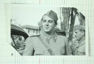 Enver Hoxha, looking pretty pleased with himself in 1944 (National Archives HS 5/120)