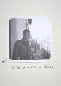 Did that really happen? Neel reflects on his close shave in Bari, October 1944 (National Archives)