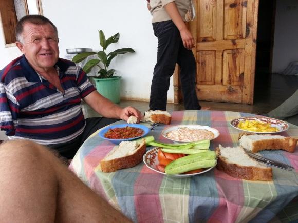 Village hospitality in Albania